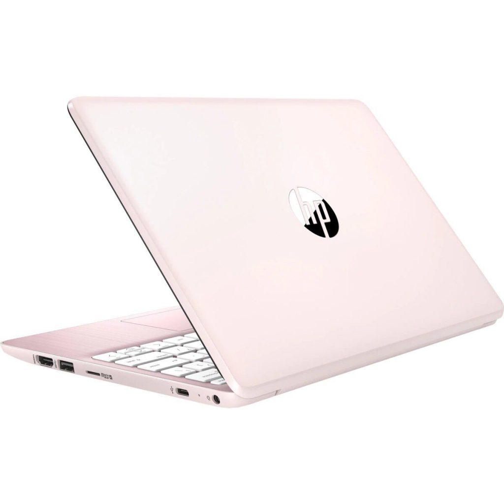 ordenador portatil hp rosa