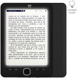 Woxter Scriba 195 Paperlight Blue Lector de libros electrónicos Comprar Barato