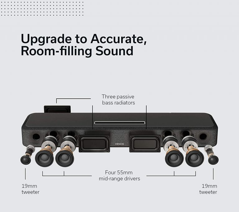 Denon Home Sound Bar 550 análisis