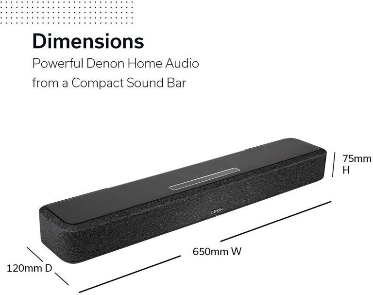 Denon Home Sound Bar 550 comprar barato amazon