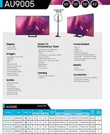 Samsung 4K UHD 2021 65AU9005 opiniones