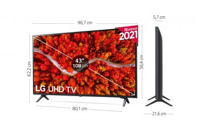 LG 43UP80006LA analisis