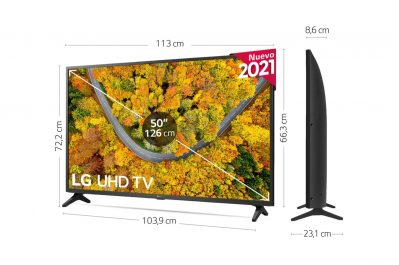 LG 50UP75006LF analisis