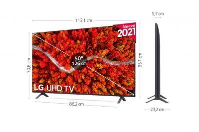 "LG 4K UHD 80006LA 50"" opiniones"