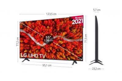 """LG 4K UHD 80006LA 55"""" opinion"""