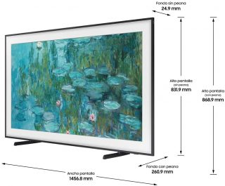 Samsung The Frame QLED 4K 2021 65LS03A análisis