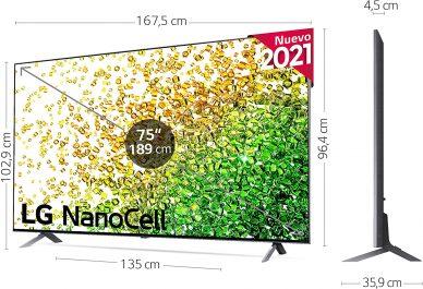 LG NanoCell 75NANO85-ALEXA análisis
