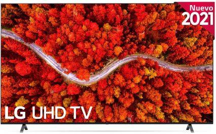 LG UP 2021 - 82UP8000 - ALEXA - Smart TV 4K UHD opiniones