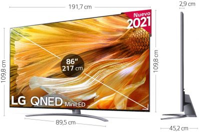 LG QNED 86QNED916PA análisis opiniones