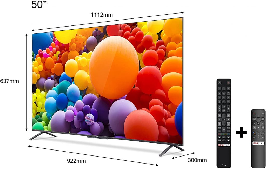 TCL QLED 50C725 opiniones análisis
