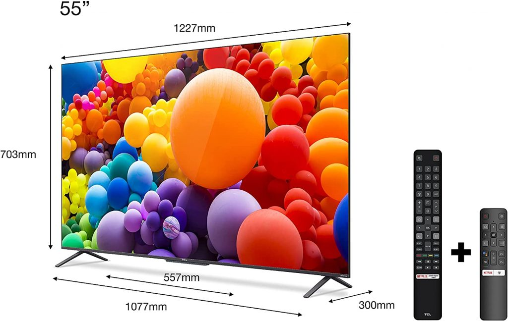 TCL QLED 55C725 opiniones análisis