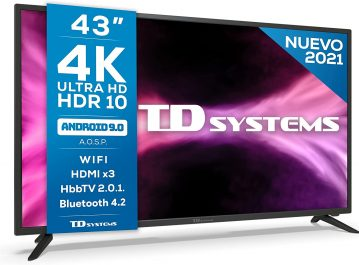 TD Systems K43DLG12US opiniones
